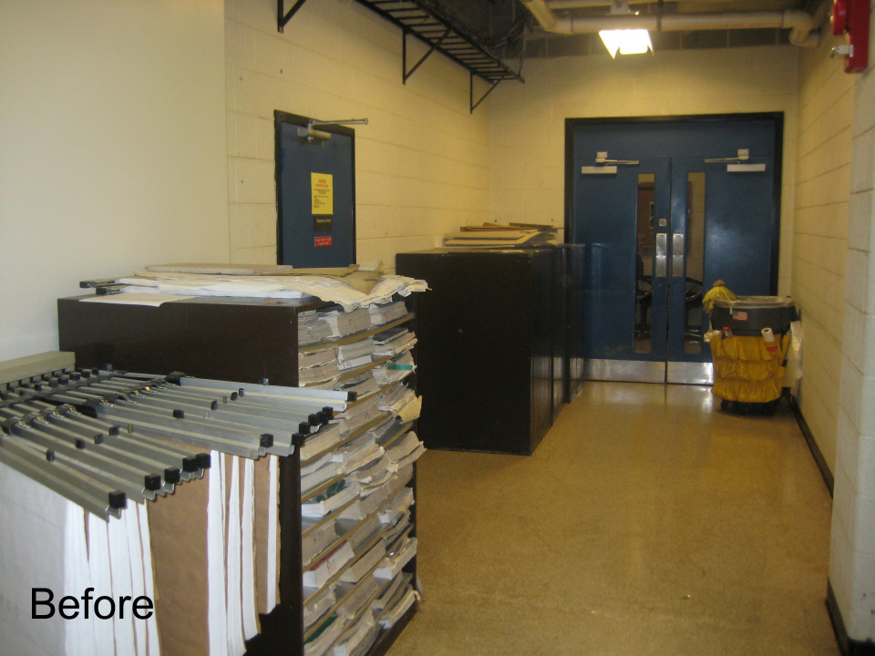 Benning - Office Area - Before Shot